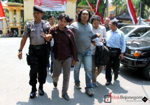 Aktivis LSM Ditangkap Polisi
