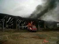 Rumah Potong Hewan Banjarsari Ludes Terbakar